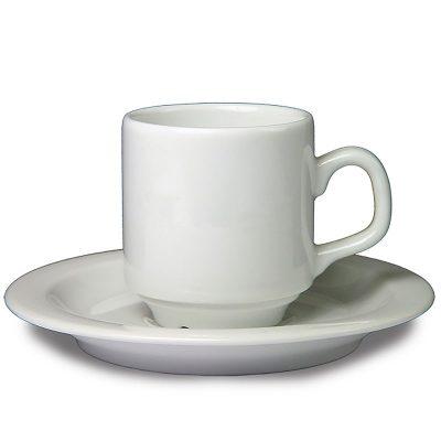 Koffiekop & schotel -0