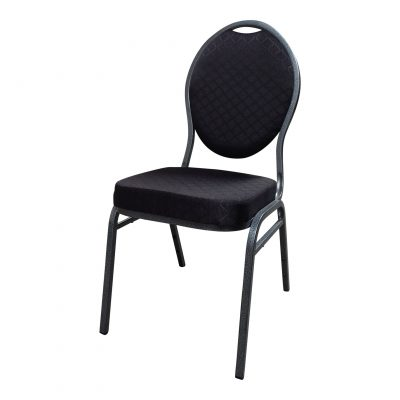 Gestoffeerde stoel (Stack Chair) -0
