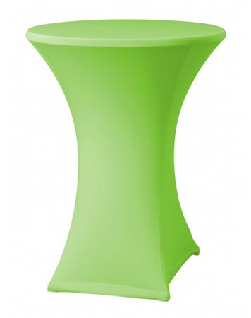 Statafel rok stretch groen -0